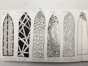 Leslie's Zentangle Windows
