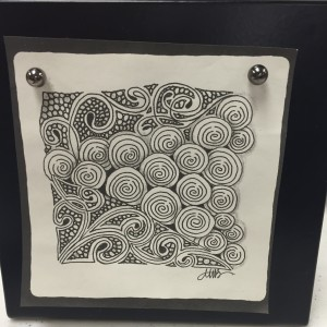 New Zentangle Frame!